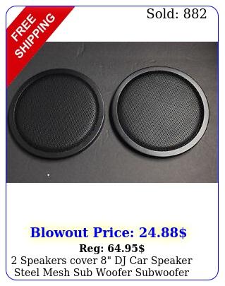 speakers cover dj car speaker steel mesh sub woofer subwoofer grill cove