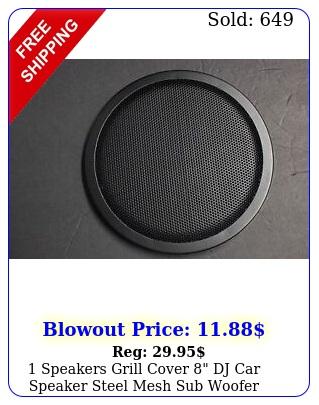 speakers grill cover dj car speaker steel mesh sub woofer subwoofe