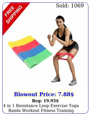 in resistance loop exercise yoga bands workout fitness training crossfi