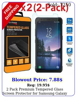 pack premium tempered glass screen protector samsung galaxy s activ