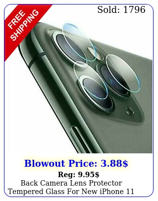 back camera lens protector tempered glass iphone pro max film guar