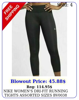 nike women's drifit running tights assorted sizes b