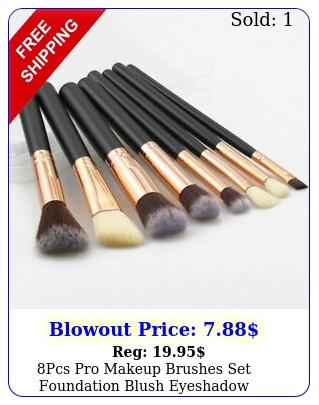 pcs pro makeup brushes set foundation blush eyeshadow eyebrow brush tool ki