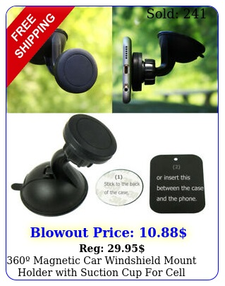 magnetic car windshield mount holder with suction cup cell phone gp