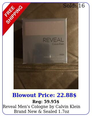 reveal men's cologne by calvin klein brand sealed o