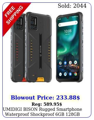 umidigi bison rugged smartphone waterproof shockproof gb gb factory unlocke