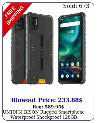 umidigi bison rugged smartphone waterproof shockproof gb unlocked cell phon