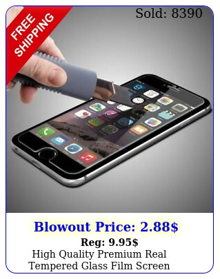 high quality premium real tempered glass film screen protector iphon