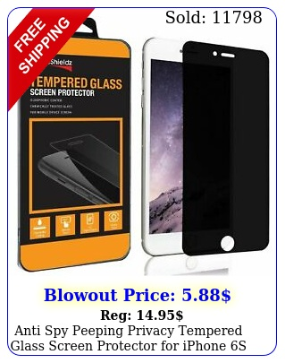 anti spy peeping privacy tempered glass screen protector iphone