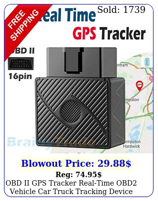 obd ii gps tracker realtime obd vehicle car truck tracking device locato