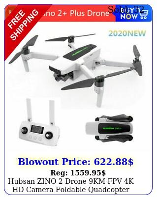 hubsan zino  drone km fpv k hd camera foldable quadcopter gimbal batter