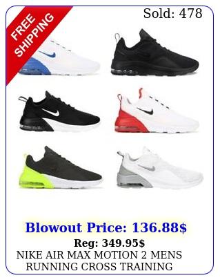 nike air max motion mens running cross training workout shoes brand ne