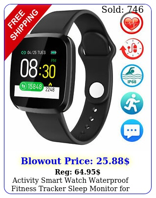 activity smart watch waterproof fitness tracker sleep monitor kids men wome
