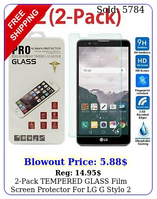 pack tempered glass film screen protector lg g stylo plus m