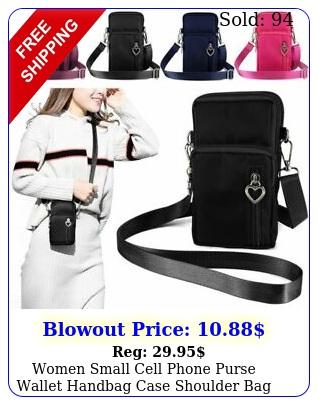 women small cell phone purse wallet handbag case shoulder bag crossbody pouc