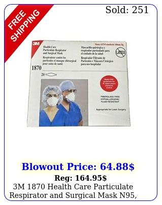 m health care particulate respirator surgical mask n pkg mask