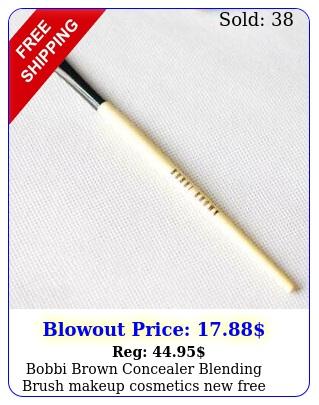 bobbi brown concealer blending brush makeup cosmetics free shippin