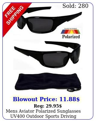 mens aviator polarized sunglasses uv outdoor sports driving glasses eyewea