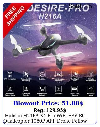 hubsan ha x pro wifi fpv rc quadcopter p app drone follow me headless u