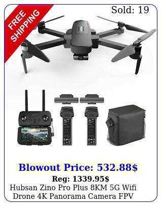 hubsan zino pro plus km g wifi drone k panorama camera fpv quadcopter u