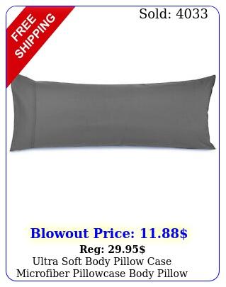 ultra soft body pillow case microfiber pillowcase body pillow cover size