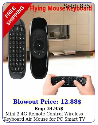 mini g remote control wireless keyboard air mouse pc smart tv androi