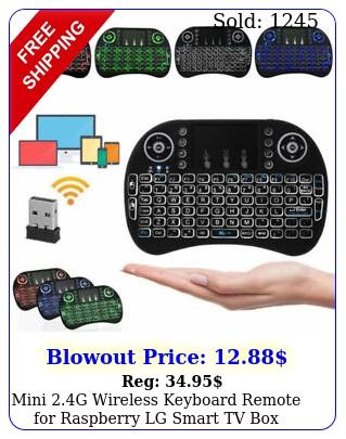 mini g wireless keyboard remote raspberry lg smart tv android tv lo