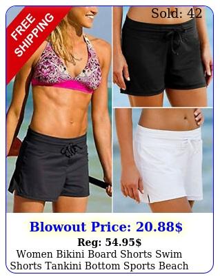 women bikini board shorts swim shorts tankini bottom sports beach swimwear brie