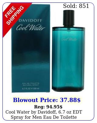 cool water by davidoff oz edt spray men eau de toilett