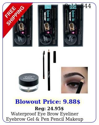 waterproof eye brow eyeliner eyebrow gel pen pencil makeup cosmetic tool h