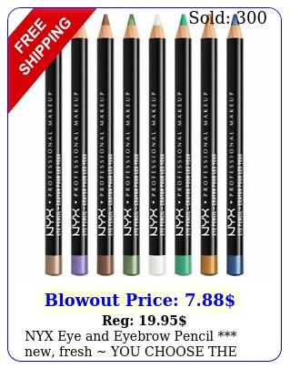 nyx eye eyebrow pencil new fresh you choose the colo