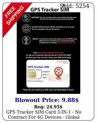 gps tracker sim card in no contract g devices global coverag
