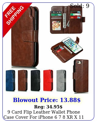 card flip leather wallet phone case cover iphone   xr x  pro ma