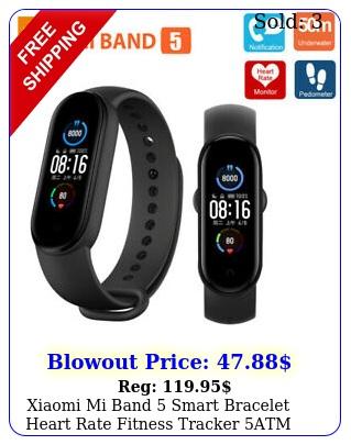 xiaomi mi band smart bracelet heart rate fitness tracker atm global versio
