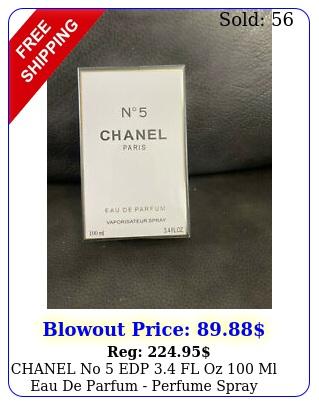 chanel no edp fl oz ml eau de parfum perfume spray brand seale
