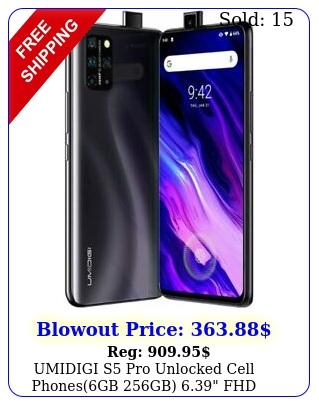 umidigi s pro unlocked cell phonesgb gb fhd android