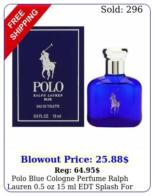 polo blue cologne perfume ralph lauren oz ml edt splash men boxe