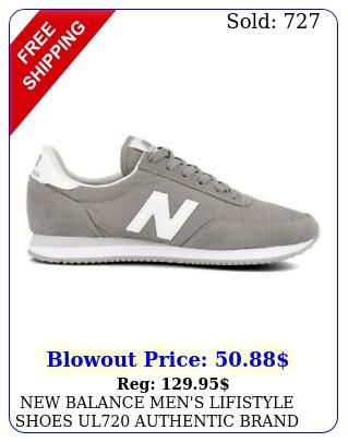 balance men's lifistyle shoes ul authentic bran