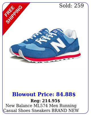 balance ml men running casual shoes sneakers bran