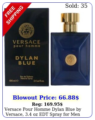 versace pour homme dylan blue by versace oz edt spray me