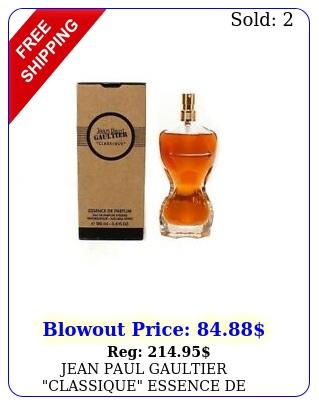 jean paul gaultier classique essence de parfum eau de parfum int spr ml