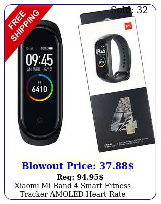 xiaomi mi band smart fitness tracker amoled heart rate monitor global versio