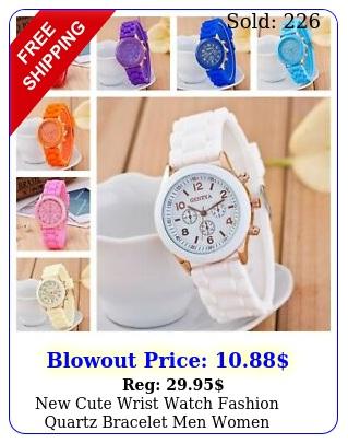 cute wrist watch fashion quartz bracelet men women children boys girls watc
