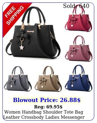 women handbag shoulder tote bag leather crossbody ladies messenger satchel purs
