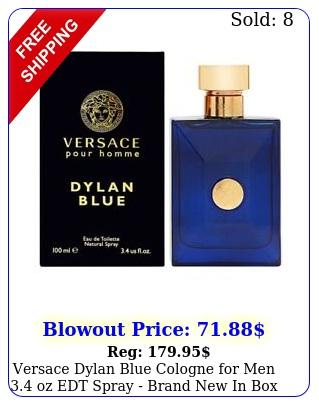 versace dylan blue cologne men oz edt spray brand i