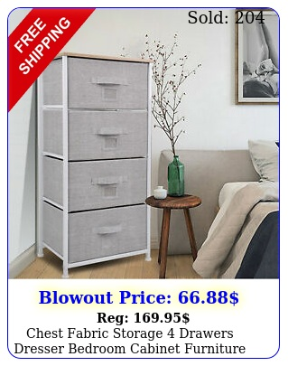 chest fabric storage drawers dresser bedroom cabinet furniture toys organize