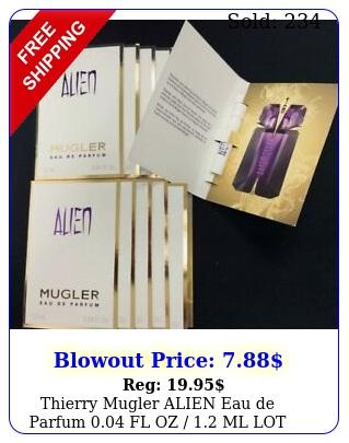 thierry mugler alien eau de parfum fl oz  ml lot deals free shippin