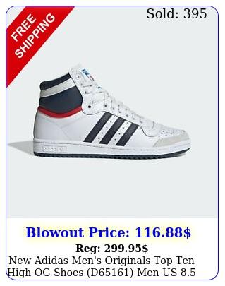 adidas men's originals top ten high og shoes d men us  eu
