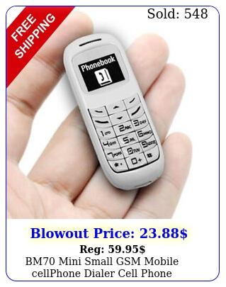 bm mini small gsm mobile cellphone dialer cell phone earphone headse