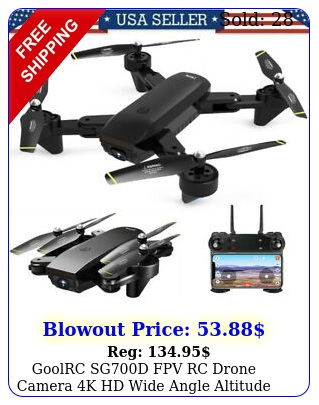 goolrc sgd fpv rc drone camera k hd wide angle altitude hold rc quadcopte